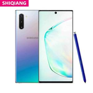 Used Samsung Galaxy Note 10/Note10+ Note10 plus Smart Phone 8+256/512GB Octa Core 6.3