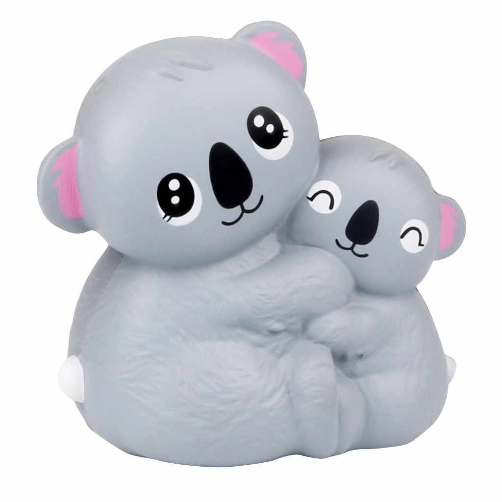 Mini Entzückende Koala-Kombination Langsam Rising Duft Stressabbau Spielzeug Squishi Spielzeug Squishie Stress Relief Spielzeug Für Kinder