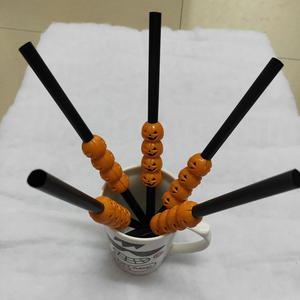 Image 4 - 5Pc Halloween Pumpkin Straw Ghost Straws Halloween Decoration Straws Halloween Party Supplies Halloween Decorations for Home