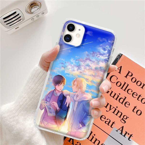 Anime Phone Case Japanese Phone Case For iPhone 12 Pro Max 11 Pro Max X Xs Xr 6s 7 8 Plus Phone Case Banana Fish Phone Case