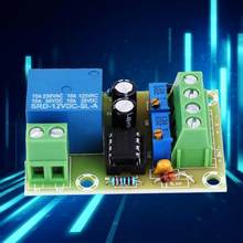DC12V Accu Opladen Controller Smart Charger Power Control Board Batterij Opladen Controller Met LED Lampje(China)