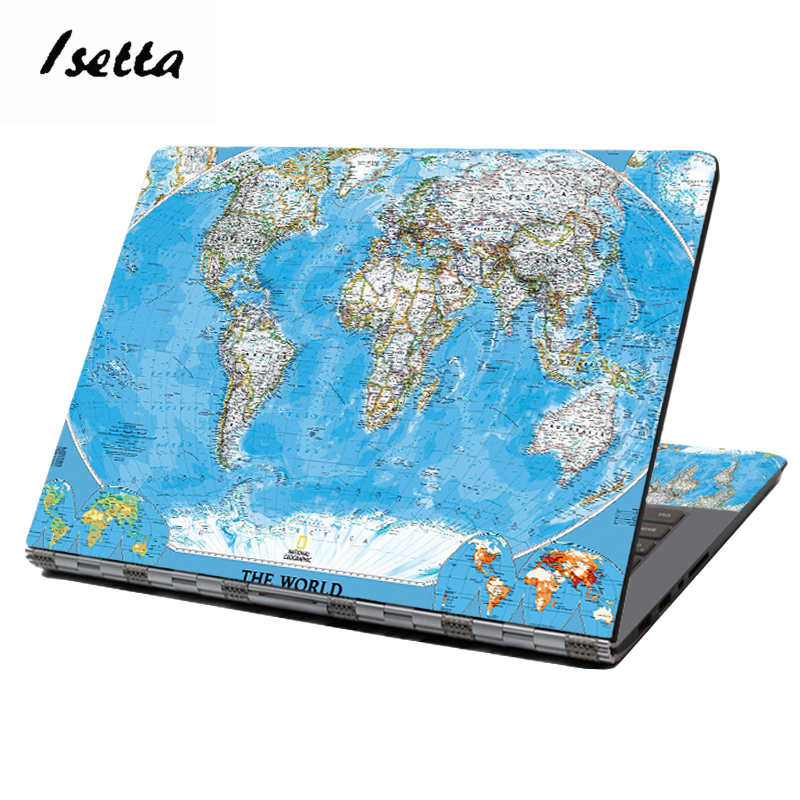 World Map <font><b>Laptop</b></font> <font><b>Skin</b></font> <font><b>15.6</b></font> Dell <font><b>Laptop</b></font> Skin13
