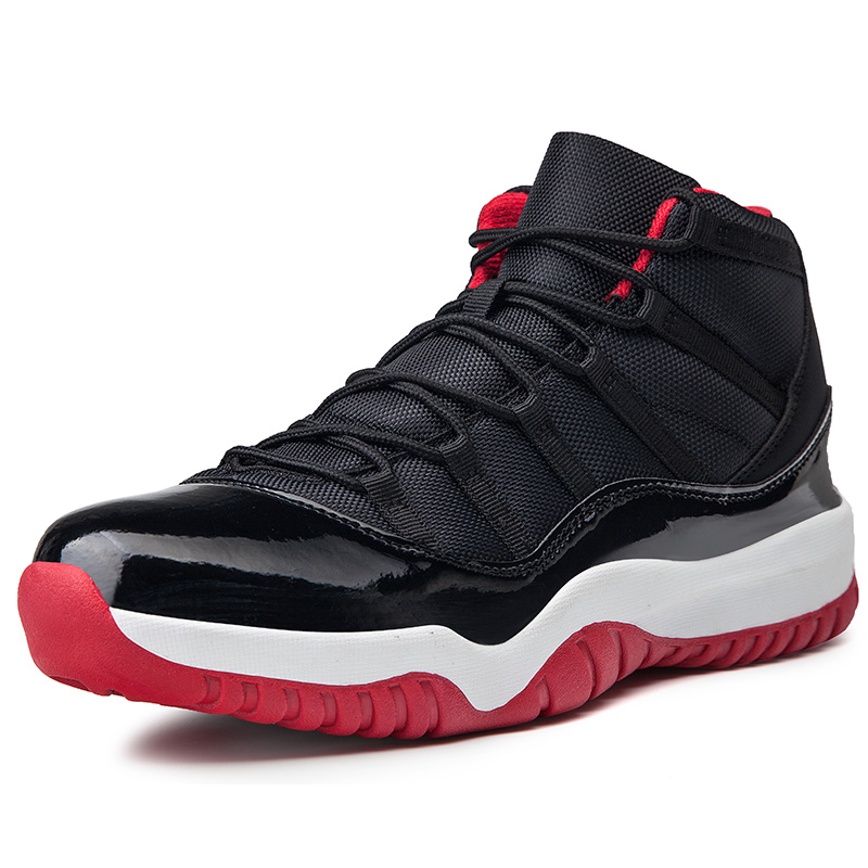 Hot Sale <font><b>Basketball</b></font> Shoes Comfortable Lace-up Gym Training Boots Ankle Boots Outdoor <font><b>Men</b></font> <font><b>Sneakers</b></font> Athletic Jordan Shoes image