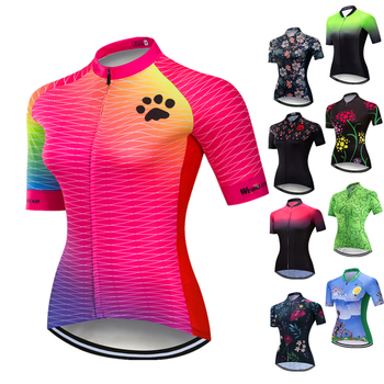 Weimostar 2020 Women Cycling Jersey Shirt Summer Bicycle Cycling Clothing Maillot Ciclismo Short Sleeve MTB Bike Jersey Tops orangutan cycling jersey tops summer cycling clothing ropa ciclismo short sleeve mtb bike jersey shirt maillot ciclismo 5114