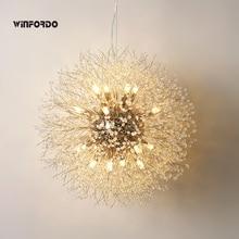 Pendant-Lamp Chandelier-Lighting Crystal Dining-Room Home-Decoration Modern for WF-P12
