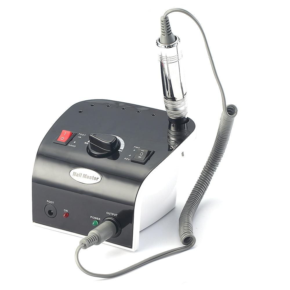 Профессиональная электрическая машинка для маникюра и педикюра, Брендовое оборудование для дизайна ногтей, 35000 об/мин|Электрические маникюрные дрели|   | АлиЭкспресс