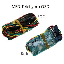 New MFD TeleflyPro OSD for MyFlyDream AAT System transfer video audio signal For