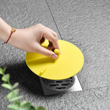 1PC kanalizacja usuwania zapachu uszczelnienie pokrywa silikonowa anti-zapach spustowy pokrywa uszczelniająca okrągłe sięgające podłogi zlew pokrywy spustowe do kuchni łazienka