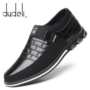 2020 New Designer Big Size 38-48 Oxfords Leather Men Shoes Fashion Casual Slip On Formal Business Wedding Dress Shoes Zapatos