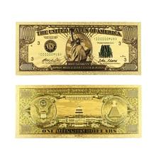 Gold Banknotes Paper-Money Dollar Bill Home-Decor 1-Million US