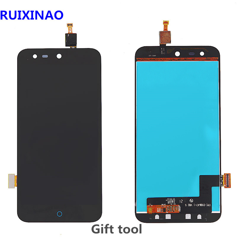 100% Tested High Quality For <font><b>ZTE</b></font> Blade X5 / Blade D3 <font><b>T630</b></font> LCD Display + Touch Screen Digitizer Assembly Replacement With Frame image