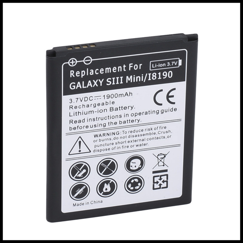 Replacement 3 Pins EB425161LU 4 Pins EB-L1M7FLU Battery For Samsung Galaxy S3 mini i8160 Ace 2 i8190 Battery S3mini image