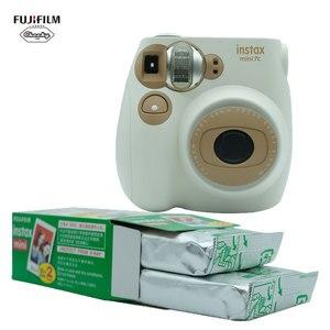 Christmas Gift Kids Children Fujifilm Instax Mini7C Instant Camera Film Photo Camera Fujifilm Instax Mini Film Mini7C Instax Cam