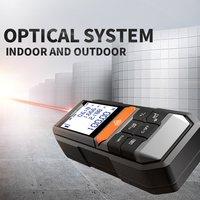 MK201 Laser Range Finder Metal Detector Auto Level Distance Meter Electronic Analysis Measuring Instrument Rangefinder