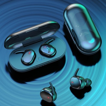 Y30 TWS Wireless Headphones Bluetooth Touch Control Sport Headset Waterproof Microphone Music Earphones Works On All Smartphones 5