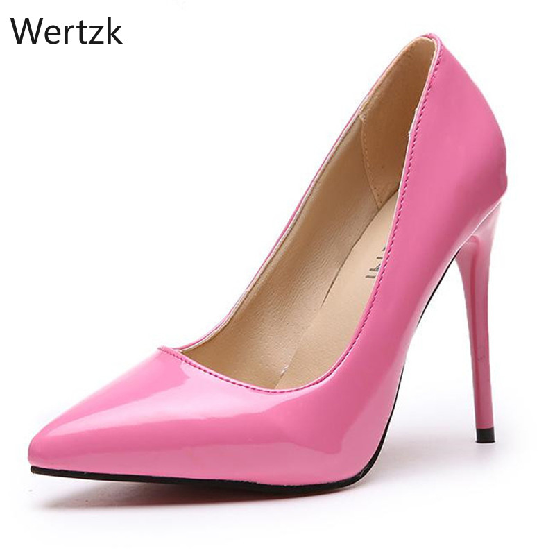 Brand Size 35-44 Shoes Woman High Heels Ladies Shoes 11CM Heels Pumps Women Shoes High Heels Sexy Wedding Shoes Stiletto A357