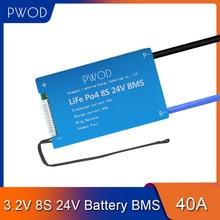3.2V 스마트 LiFePo4 8S BMS 24V 배터리 관리 시스템 보호 전자 스쿠터 전자 자전거에 대 한 PCB 보드 3.7V 리튬 이온 배터리