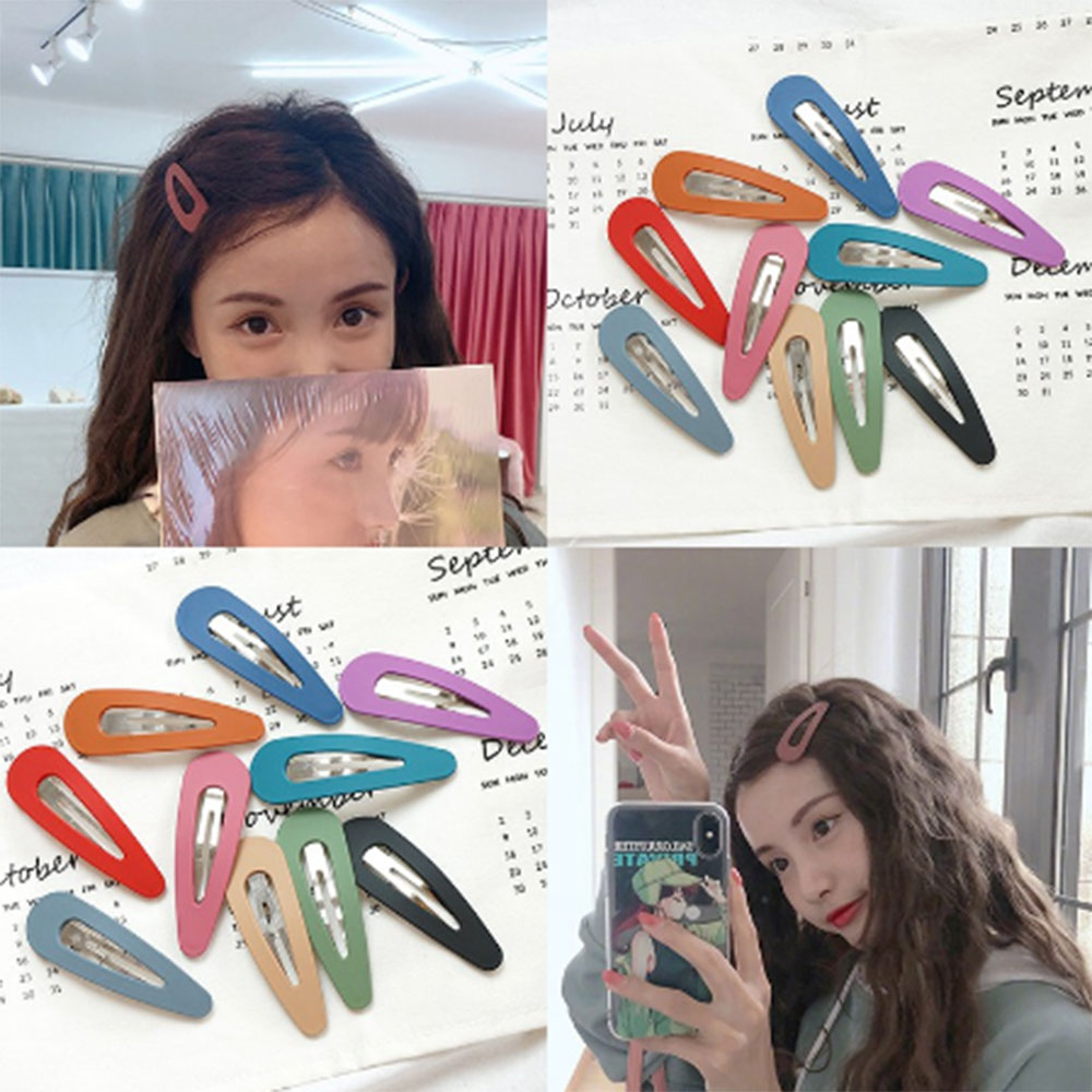 1PC Fashion Women Girls Hair Clip BB Hairpins Metal Barrettes Hair Holder Styling Tools Accessories For Daily Life