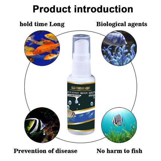 Algae Purifier Aquarium Safe Algae Remover Water Purification for Fish Aquatic Pet Supplies Tank Ponds Water Treatment Tool 3