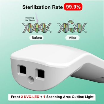 UV Light LED Ultraviolet Lamp Portable Cleaning for Home Travel Hotel Office Hot Sale