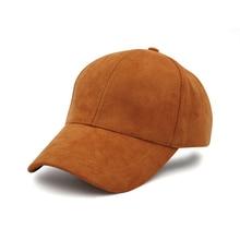 Baseball Caps Women Plain Curved Adjustable Snapback Sun Visor Hats Solid Color Fashion Casual Polyester Female