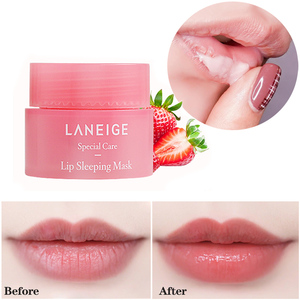 Korea Lip Sleeping mask 3g Grapefruit Essence Nutrious Lip Care Moisture Lip Balm Smoothing Dryness(China)