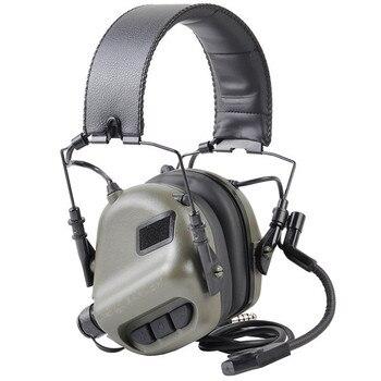 EARMOR M32 тактическая гарнитура MOD3 наушники с шумоподавлением военные авиационные коммуникационные наушники для стрельбы