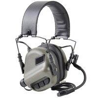 EARMOR M32 Tactical MOD3 Headset Noise Canceling Headphones Military Aviation Communication Softair Earphones Shooting