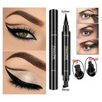 Black Eyeliner Stamp Pencil Long Lasting Sweatproof Eye
