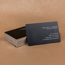 Name-Card Blank-Printing Sublimation Metal Business-F09 Custom Laser-Engraved DIY Thick