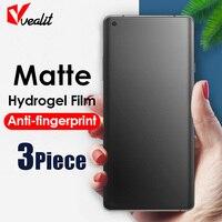 1-3 stücke Keine fingerprint Matte Screen Protector für OnePlus 9 9R 8 8T 7T 7 6T 6 Pro Nord N200 N10 N100 CE Hydrogel Film keine Glas
