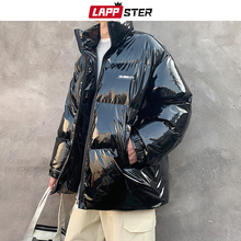 Jackets Coats LAPPSTER Korean Fashions-Tops Streetwear Thick Men Winter And Male Reflective