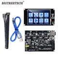 BIQU BIGTREETECH SKR MINi E3 32 بت لوحة تحكم متكاملة TMC2209 UART RGB مارلين مع TFT35 لأجزاء طابعة ثلاثية الأبعاد 3/5