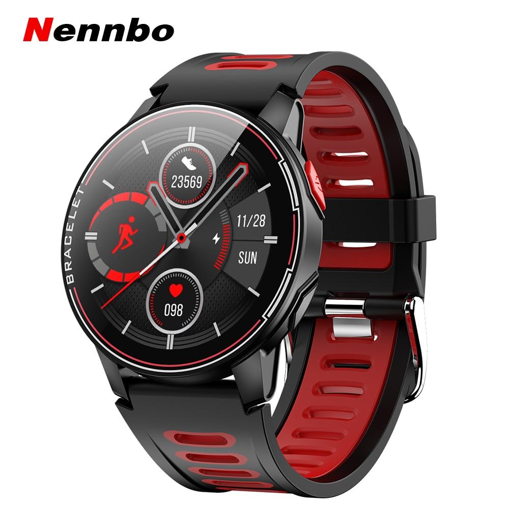 2020 New L6 Smart Watch IP68 Waterproof Sport Men Women Bluetooth Smartwatch Fitness Tracker Heart Rate Innrech Market.com
