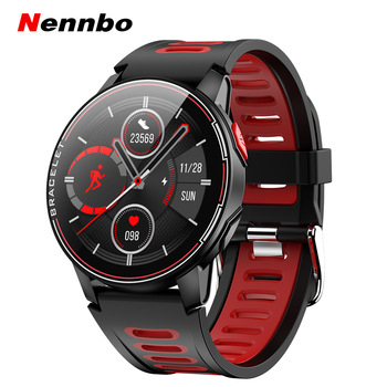 2020 New L6 Smart Watch IP68 Waterproof Sport Men Women Bluetooth Smartwatch Fitness Tracker Heart Rate Monitor For Android IOS