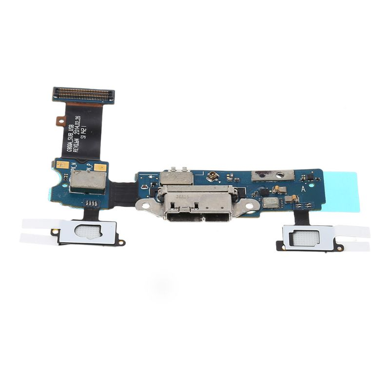Micro USB Port Charging Outlet Dock Connector Replacement Flex Cable For Samsung Galaxy S5 G900F G900A Microphone