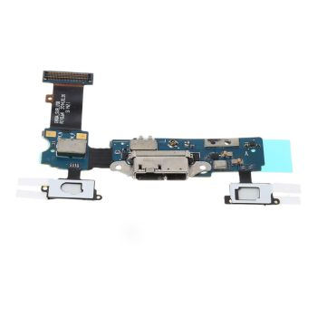 цена на Micro USB Port Charging Outlet Dock Connector Replacement Flex Cable for Samsung Galaxy S5 G900F G900A Microphone