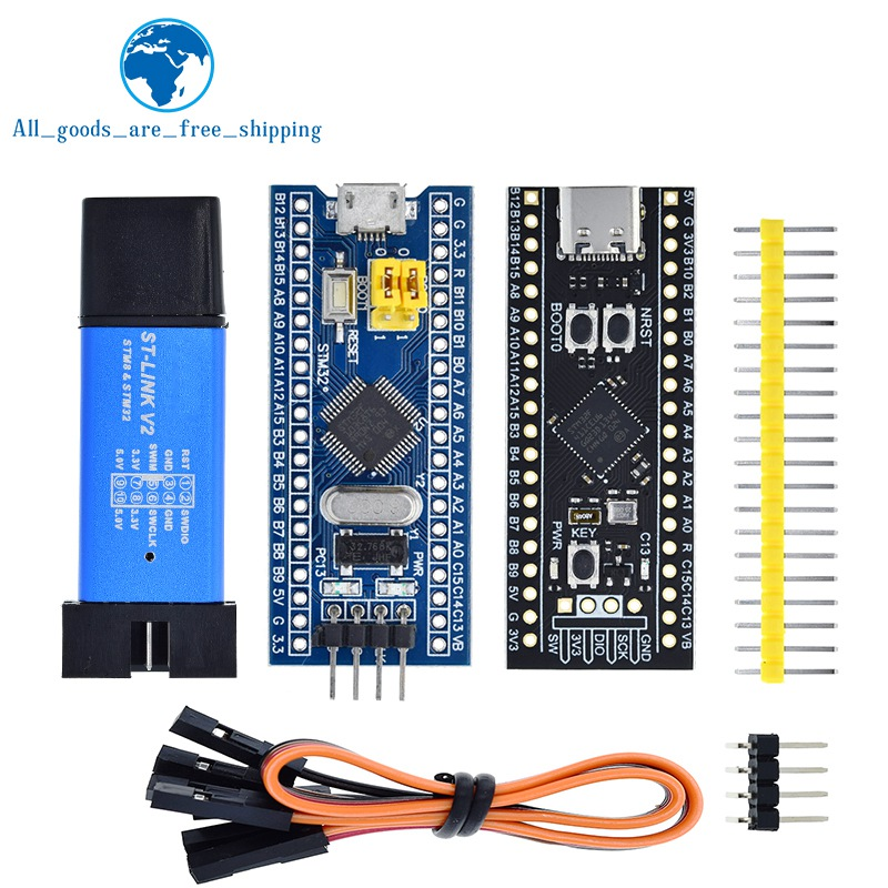 Минимальная плата разработчика системы STM32F103C8T6 ARM STM32, программатор симулятора STM32F401 STM32F411 STM32F4 + ST-LINK V2