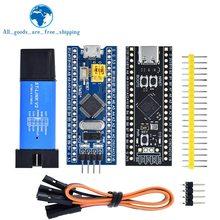 Stm32f103c8t6 arm stm32 placa de desenvolvimento do sistema mínimo stm32f401 stm32f411 stm32f4 + ST-LINK v2 simulador download programador