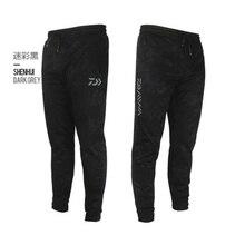 Daiwa мужские уличные спортивные штаны камуфляжные рыболовные штаны антистатические анти-УФ быстросохнущие ветронепроницаемые дышащие брюки