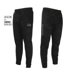 Daiwa calças de esportes ao ar livre calças de pesca de camuflagem anti-estática anti-uv secagem rápida à prova de vento respirável calças