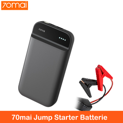 Xiaomi 70mai Jump Starter Auto Accessorie Booster Batterie Voiture 70 mai 12v 11100mah Power Bank Starting Booster For Car