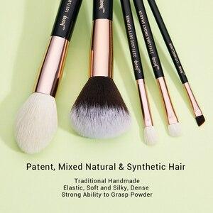 Image 3 - ジェサップ美容 15 個化粧品メイクブラシセットドロップシッピングpinceauxマキアージュファンデーションブレンドブラシT162