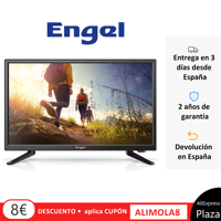 Fernsehen ENGEL LE2262 IMMER LED 22 Spezielle, wohnwagen, camping, TV, Plaza España