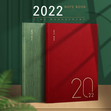 Agenda 2022 Planner Stationery Organizer Diary A5 Notebook and Journal Weekly Sketchbook Office Notepad Daily Plan Note Book Kit