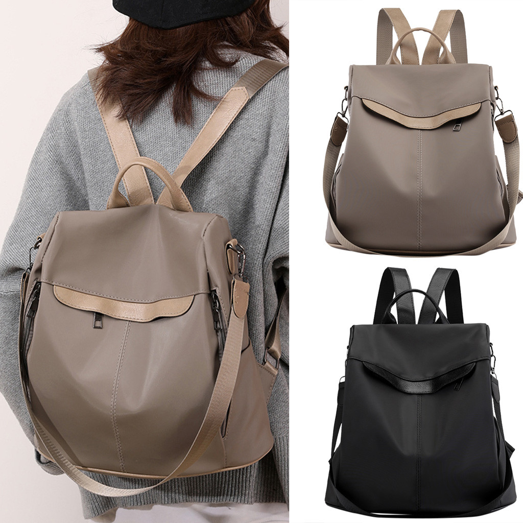 Backpack Female Wild Fashion Canvas Waterproof Anti-theft Dual-use Shoulder Bag рюкзак рюкзак женский Bag Mochila сумка New