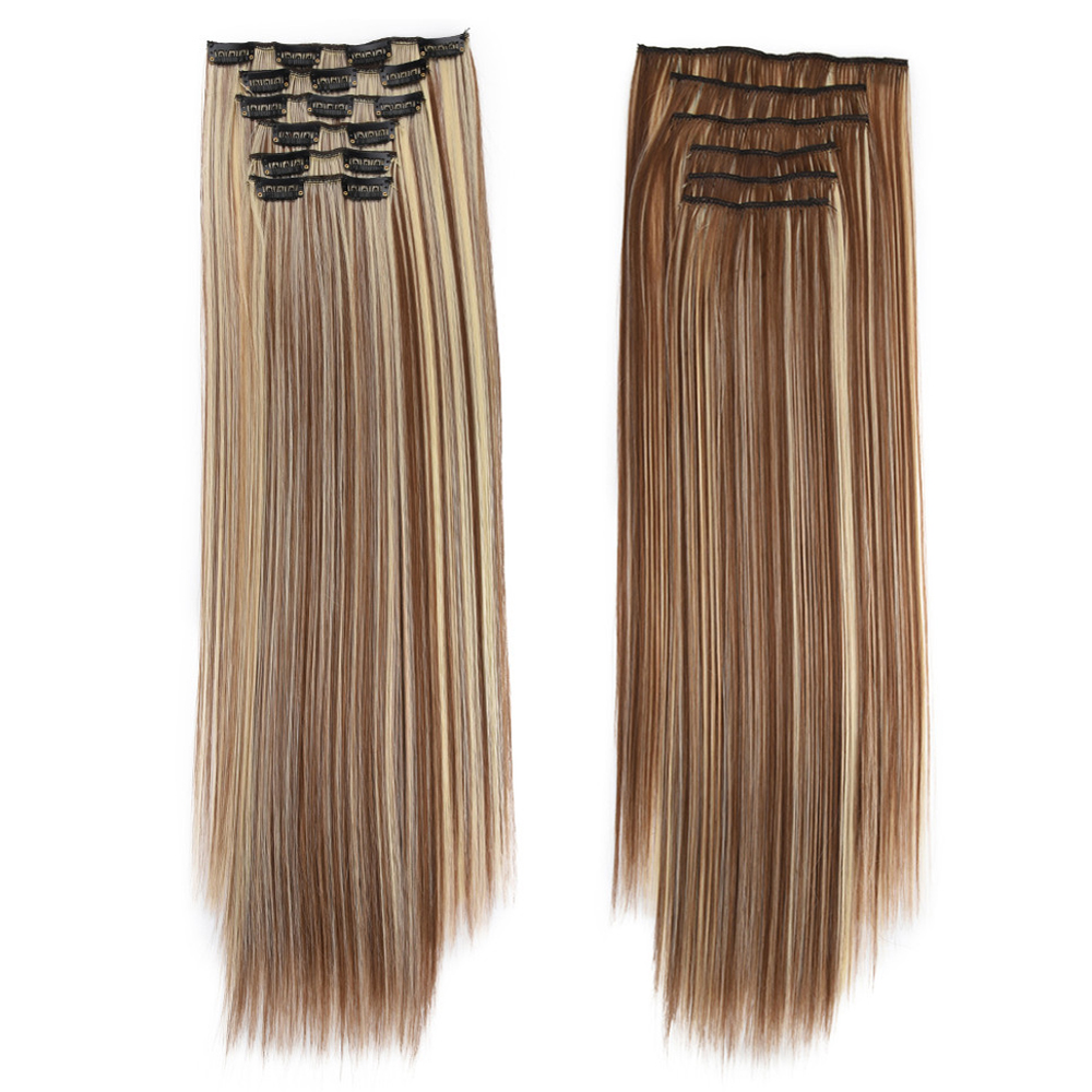 Clip in Hair Extensions 6Pcs/Set 24