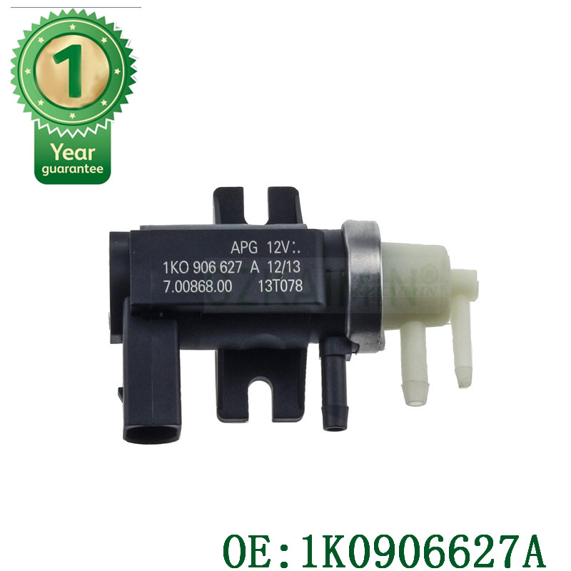 Genuino OEM para N75 Turbo Boost de presión Válvula de conversión BEW BRM CBEA CJAA TDI '04-14 1K0906627A y 7.00868.02.0 para A3 A4 TT