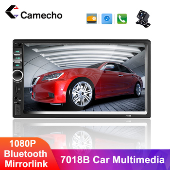 Camecho 2 Din Car Radio Android Multimedia Player 7 HD Bluetooth MP5 Radio 2 Din Universal For Volkswagen Nissan Hyundai Toyota image