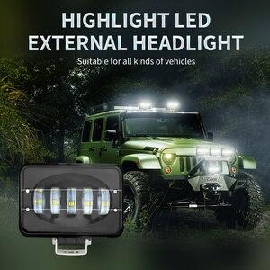 Image 5 - 50W מתח גבוה אור בר 6000K עבודת המכונית אור קומבו קרן עבור אוטומטי off road 4x4 עבור jeep SUV אופנועים משאית טנדר עגלת UTB